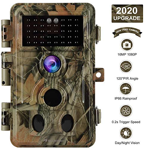 [2020 Upgrade] Trail Camera 16MP 1080P Game Camera with No Glow...