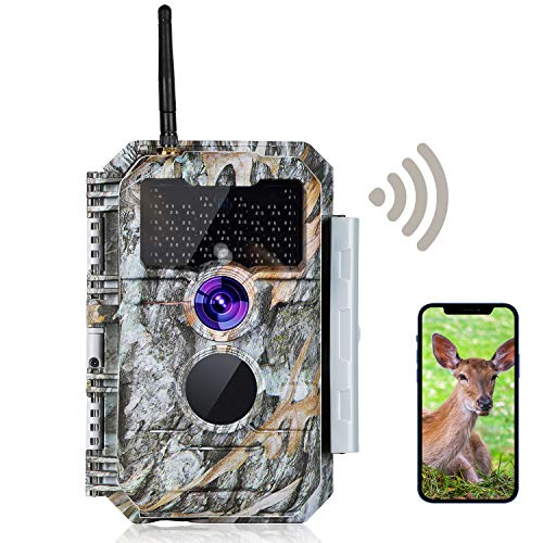 Wireless Bluetooth WiFi Game Trail Deer Camera Night Vision 24MP...