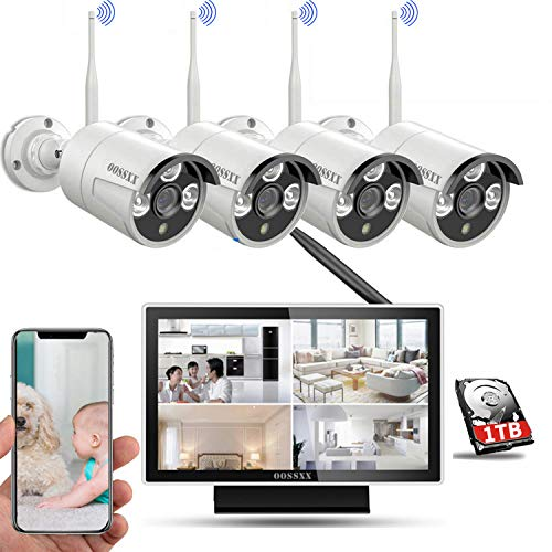 【Expandable 8CH&Audio】Wireless Home Security Camera Systems...