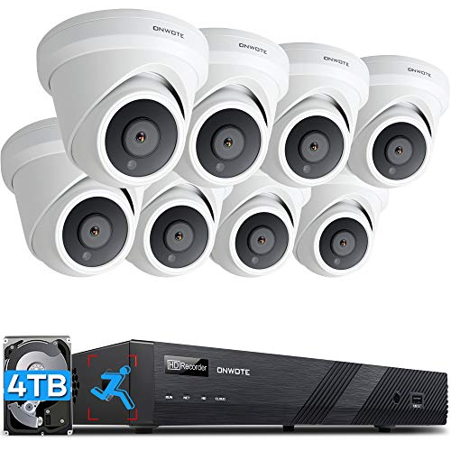 ONWOTE 16 Channel 4K 8MP PoE Security Camera System 4TB,...