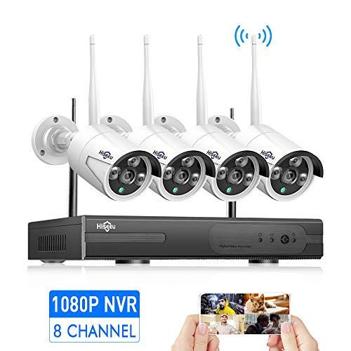 [8CH Expandable] Hiseeu Wireless Security Camera System with...