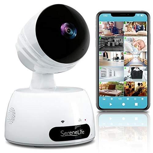 SereneLife Indoor Wireless IP Camera-HD 720p Network Security...