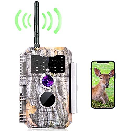 Wireless Bluetooth WiFi Game Trail Deer Camera Night Vision 24MP...