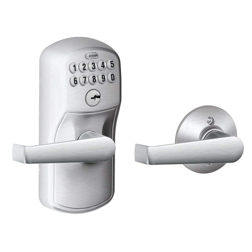 electronic keyless door locks