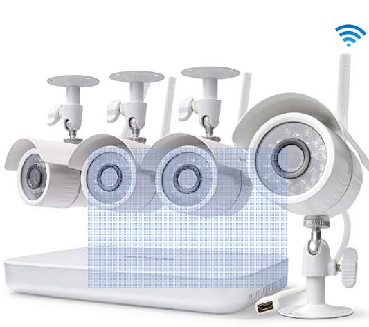 Zmodo Wireless Home Security Cameras System