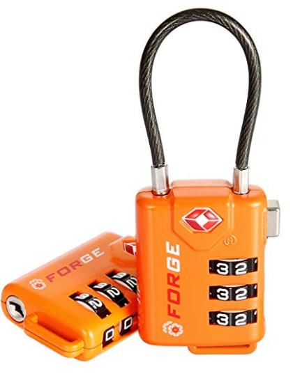 best tsa approved luggage locks