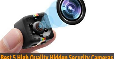high quality hidden security cameras