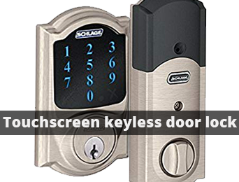 schlage z-wave touchscreen keyless door lock