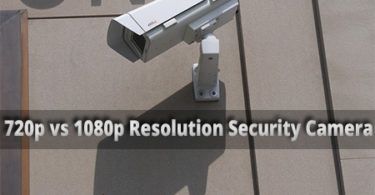 720p vs 1080p security camera